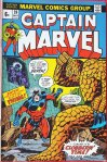 Captain Marvel #26, 6p Pence Price Variant