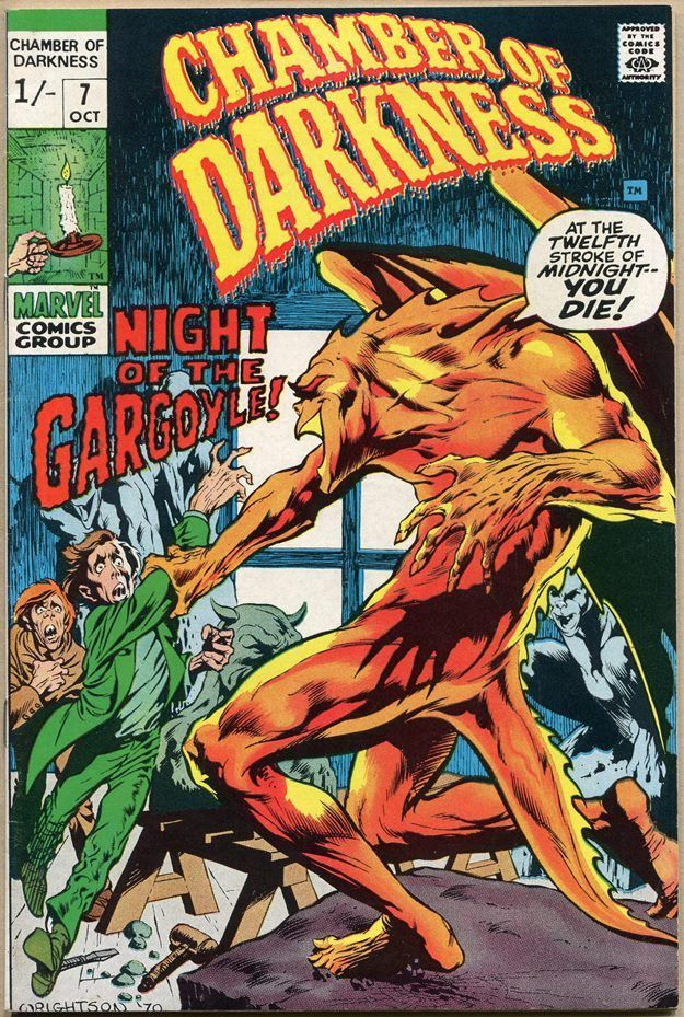 Chamber of Darkness #7, 1/- Pence Price Variant