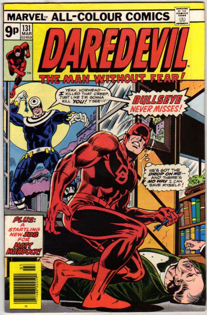 Daredevil #131, 9p Pence Price Variant