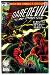 Daredevil #168, 15p Pence Price Variant