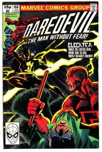Daredevil #168 Pence Price Variant