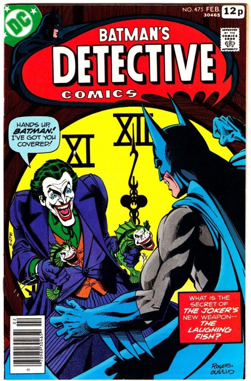 Detective Comics #475, 12p Pence Price Variant