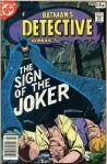 Detective Comics #476, 12p Pence Price Variant
