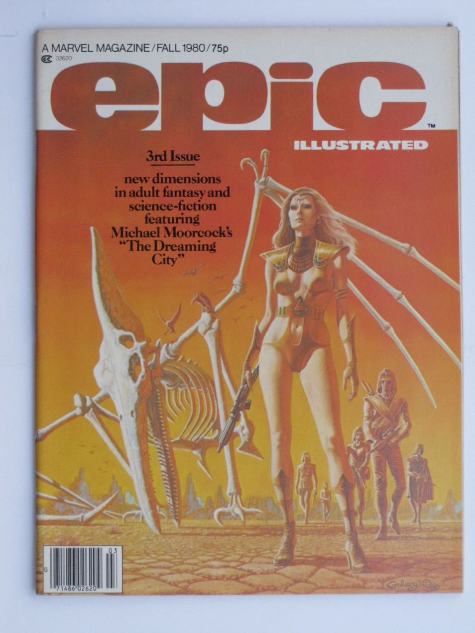 Epic Illustrated #3, 75p Pence Price Variant