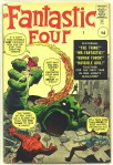 Fantastic Four #1, 9d Pence Price Variant