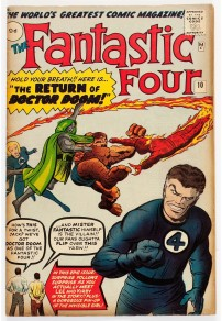 Fantastic Four #10 Pence Price Variant
