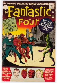 Fantastic Four #11 Pence Price Variant