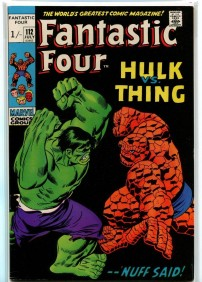 Fantastic Four #112 Pence Price Variant