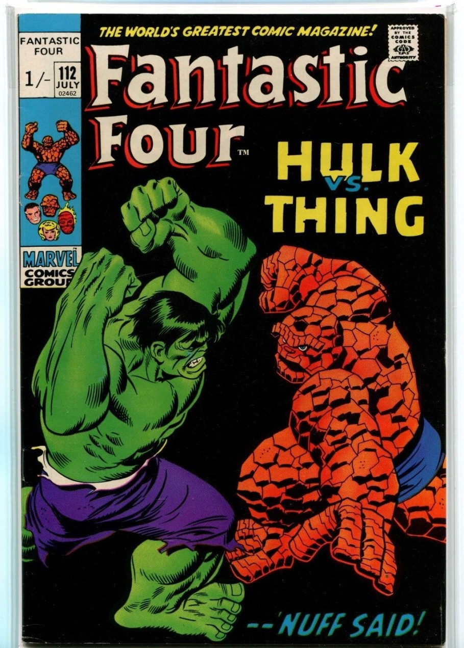 Fantastic Four #112, 1/- Pence Price Variant