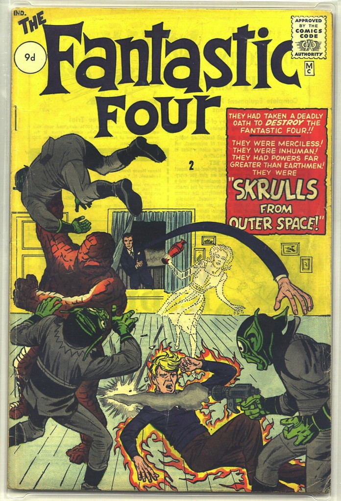 Fantastic Four #2, 9d Pence Price Variant