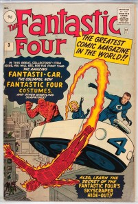 Fantastic Four #3 Pence Price Variant