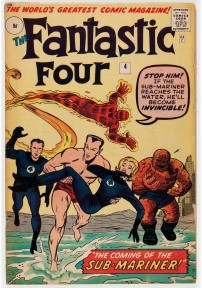 Fantastic Four #4 Pence Price Variant