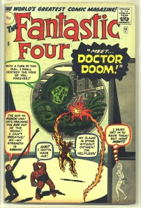 Fantastic Four #5 Pence Price Variant