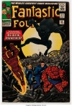 Fantastic Four #52, 10d Pence Price Variant