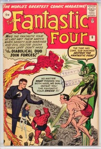 Fantastic Four #6 Pence Price Variant