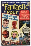 Fantastic Four #7, 9d Pence Price Variant