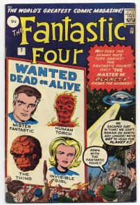 Fantastic Four #7 Pence Price Variant