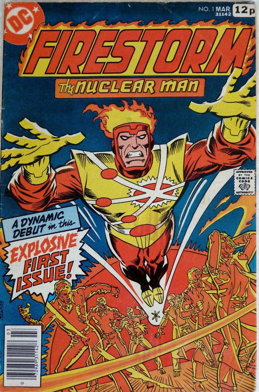 Firestorm The Nuclear Man #1, 12p Pence Price Variant