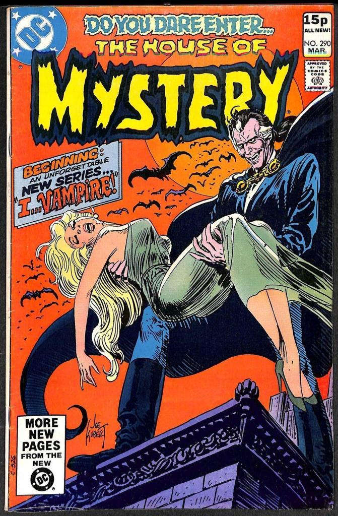 House of Mystery #290, 15p Pence Price Variant