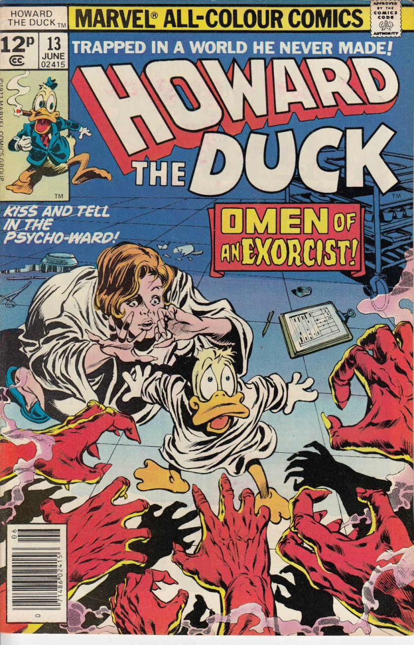 Howard the Duck #13, 12p Pence Price Variant
