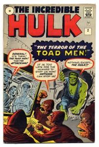Incredible Hulk #2 Pence Price Variant