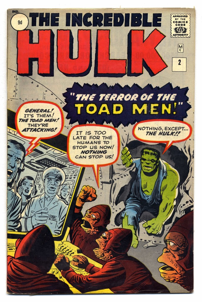 Incredible Hulk #2, 9d Pence Price Variant