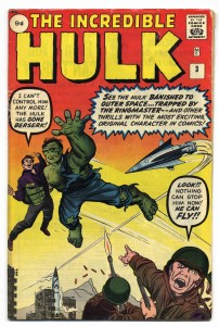 Incredible Hulk #3 Pence Price Variant