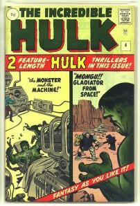 Incredible Hulk #4 Pence Price Variant