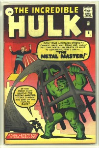 Incredible Hulk #6 Pence Price Variant