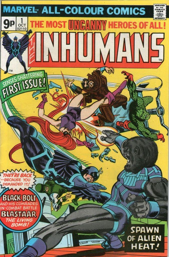 Inhumans #1, 9p Pence Price Variant