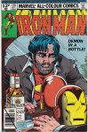 Iron Man #128, 12p Pence Price Variant