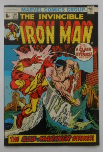 Iron Man #54 Pence Price Variant