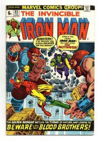 Iron Man #55 Pence Price Variant