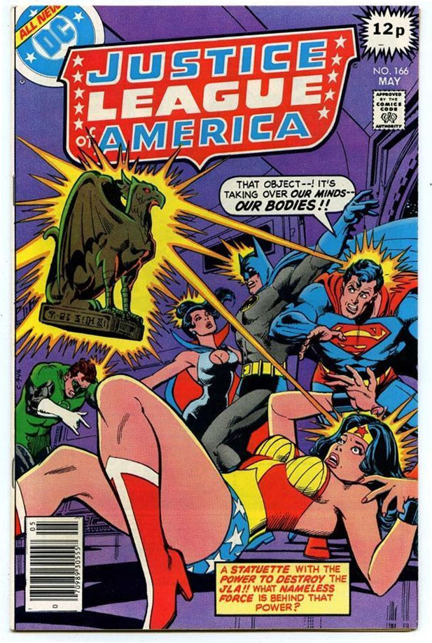 Justice League of America #166, 12p Pence Price Variant