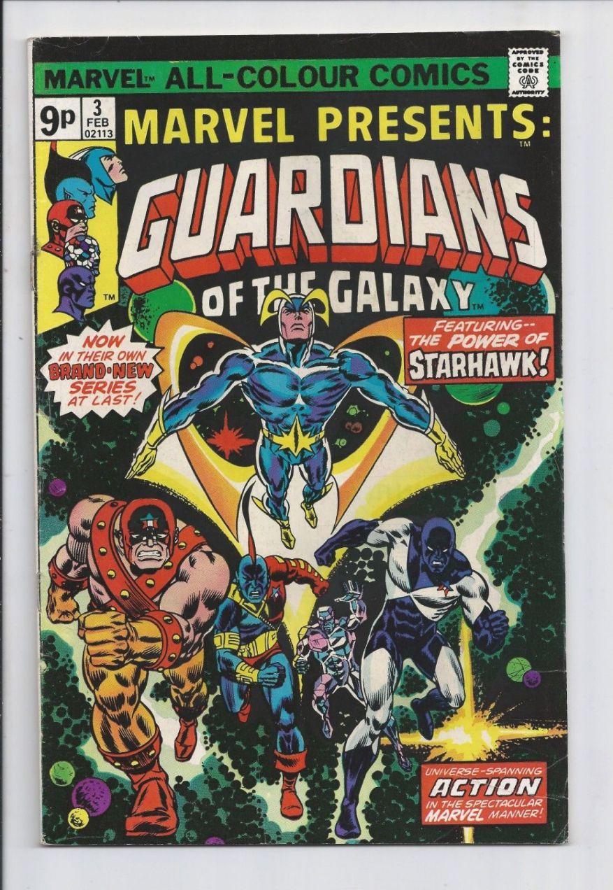 Marvel Presents #3, 9p Pence Price Variant