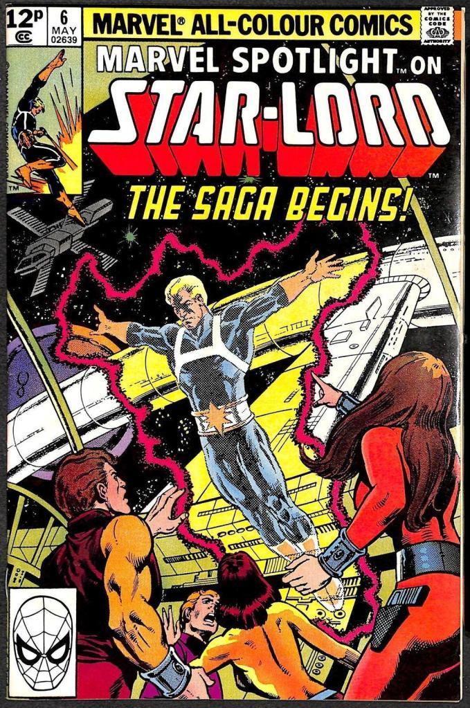 Marvel Spotlight Volume 2 #6, 12p Pence Price Variant
