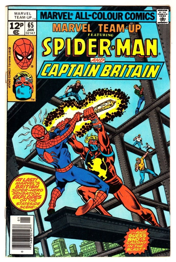 Marvel Team-Up #65, 12p Pence Price Variant
