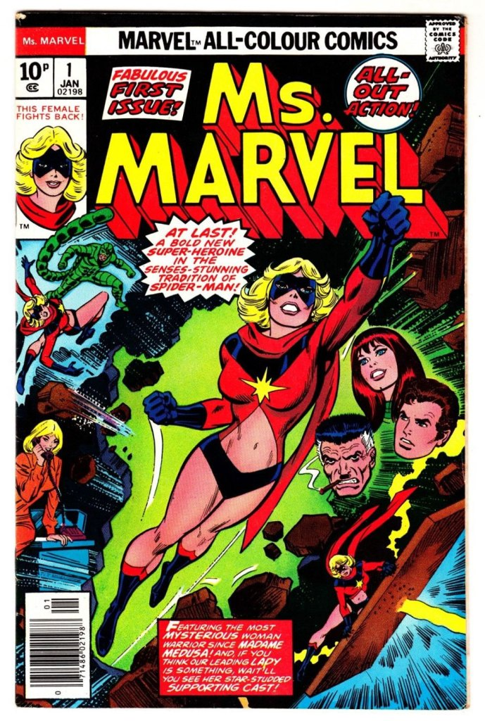 Ms. Marvel #1, 10p Pence Price Variant