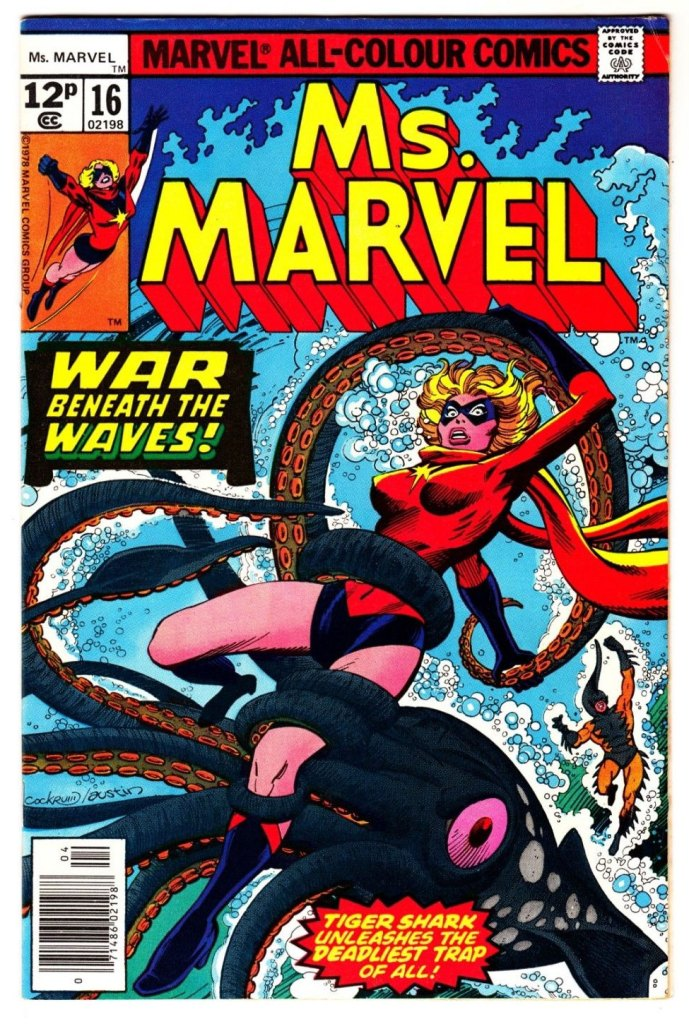 Ms. Marvel #16, 12p Pence Price Variant