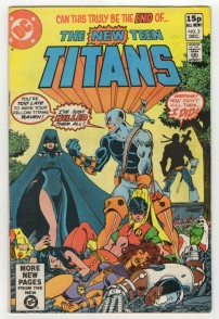 New Teen Titans #2 Pence Price Variant