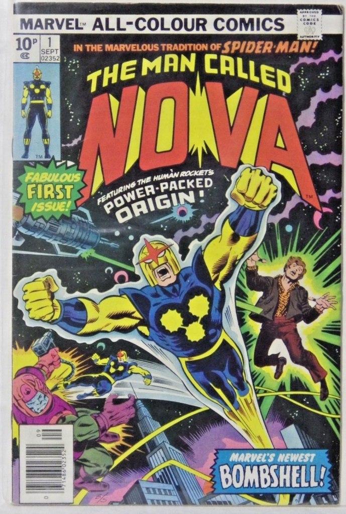 Nova #1, 10p Pence Price Variant