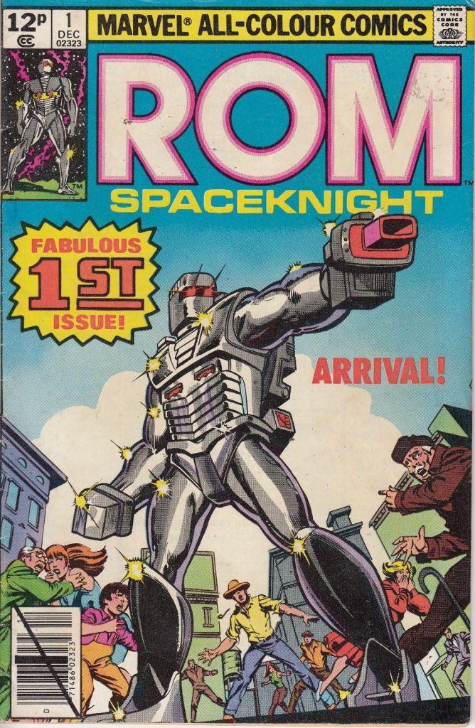ROM #1, 12p Pence Price Variant