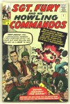 Sgt. Fury And His Howling Commandos #1, 9d Pence Price Variant