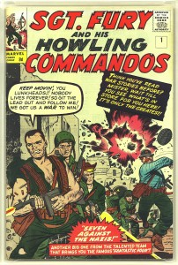 Sgt. Fury and His Howling Commandos #1 Pence Price Variant