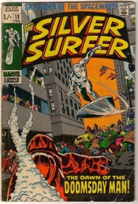 Silver Surfer #13 Pence Price Variant