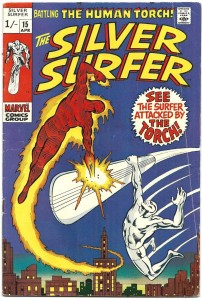Silver Surfer #15 Pence Price Variant