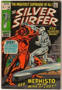 Silver Surfer #16 Pence Price Variant