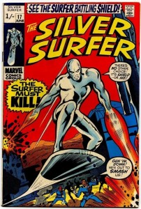 Silver Surfer #17 Pence Price Variant