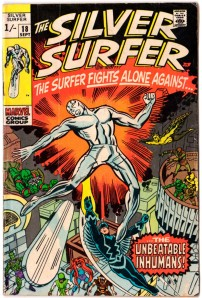 Silver Surfer #18 Pence Price Variant