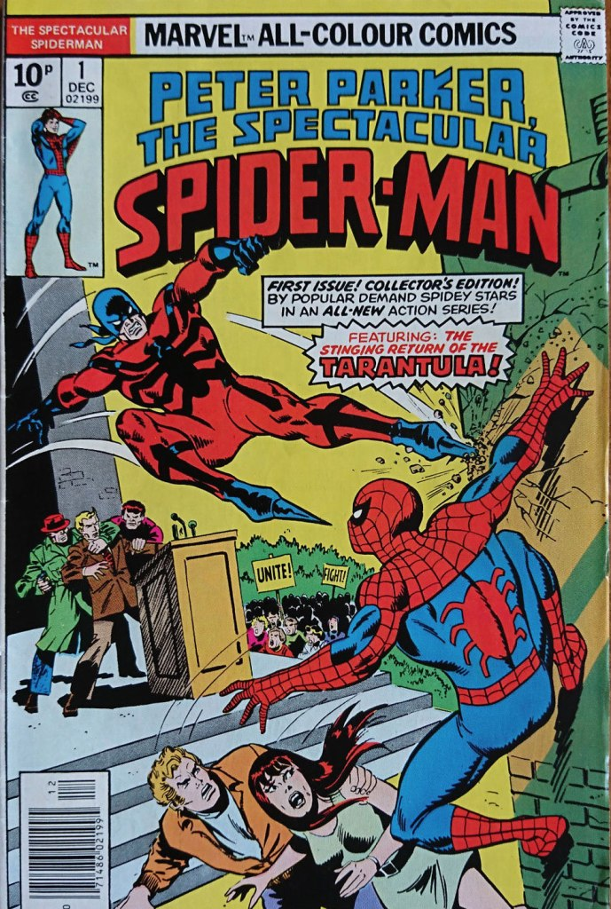 Spectacular Spider-Man #1, 10p Pence Price Variant